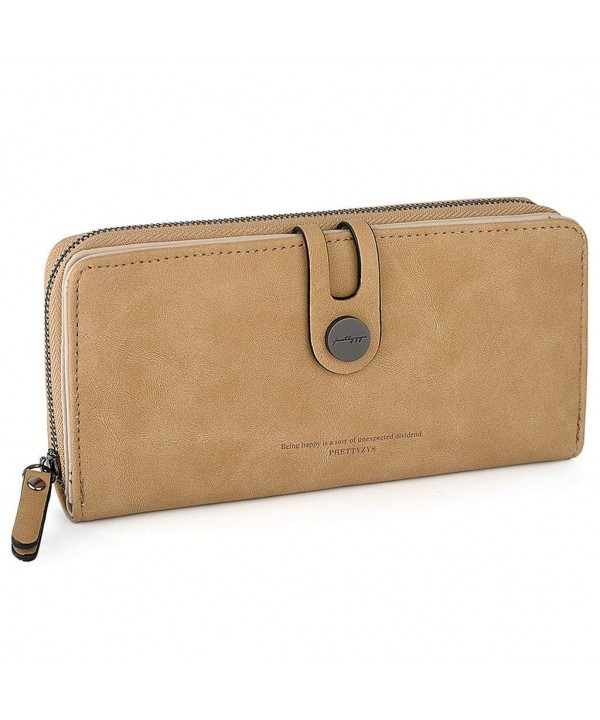 UTO Womens Leather Wallet Capacity
