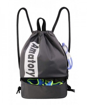 Drawstring Backpack Waterproof Gymsack Sackpack