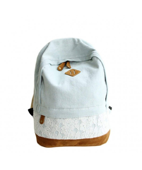 Egmy Fashion Canvas Backpack Schoolbag