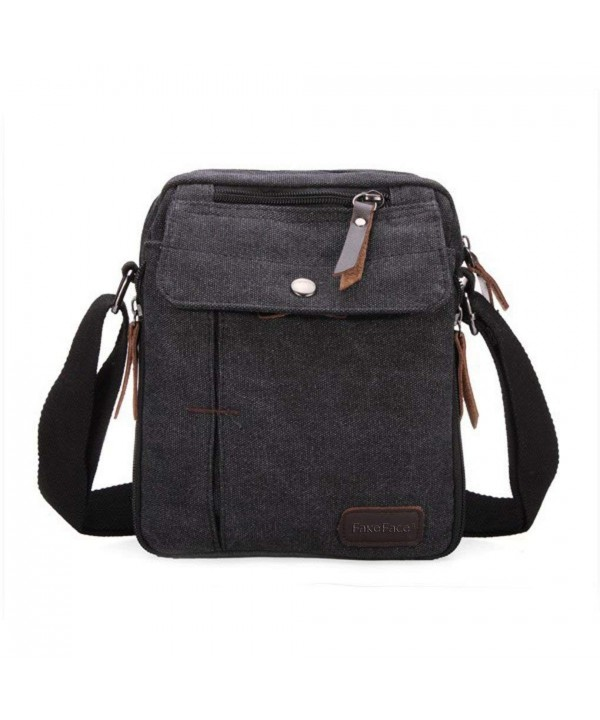Multi use Messenger Shoulder Crossbody Handbag Black