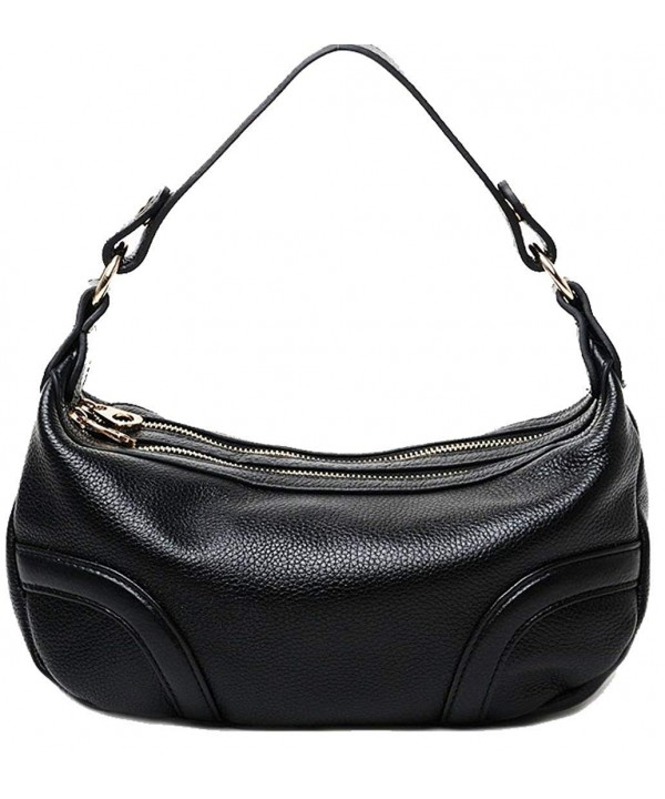 Genuine Leather Top handle Shoulder Handbag