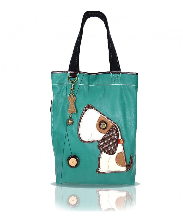 CHALA Everyday Detachable Turquoise Tote Toffy