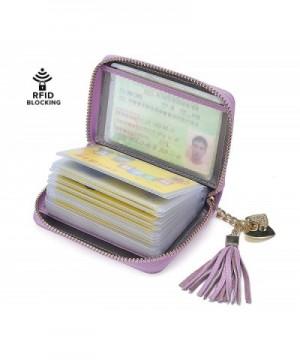 Wallet Credit Holder Leather Blocking