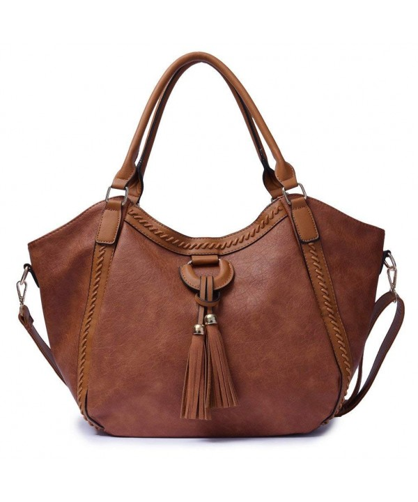 FUTISKY Handbags Capacity Leather Shoulder