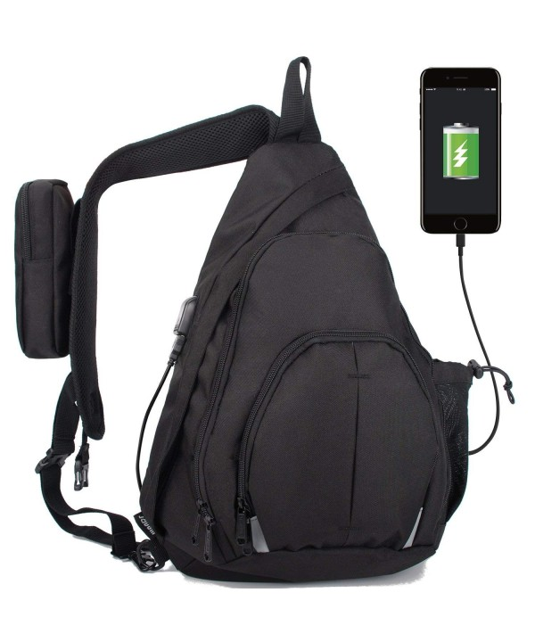 WANDF Anti Theft Crossbody Backpack Waterproof
