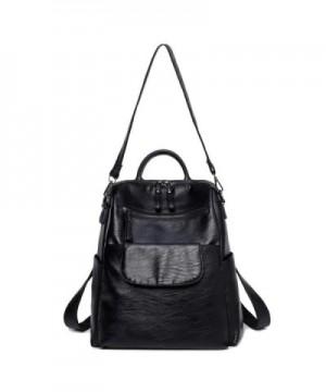 Daimanbo Backpack Leather Rucksack Shoulder