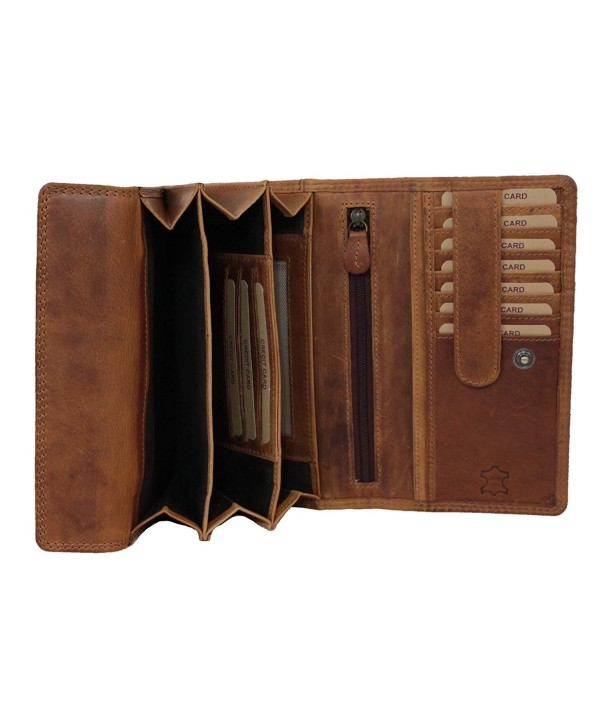 Genuine Leather Wallet Handmade Capacity