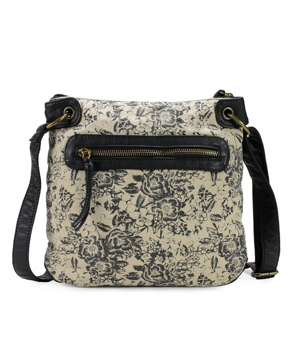 Scarleton Trendy Fabric Crossbody H191401