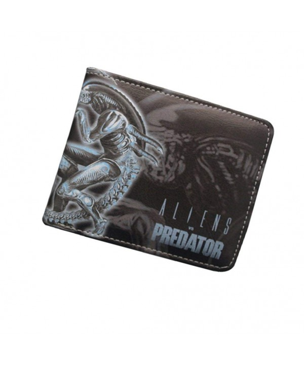 Aliens Predator Leather Character Bifold