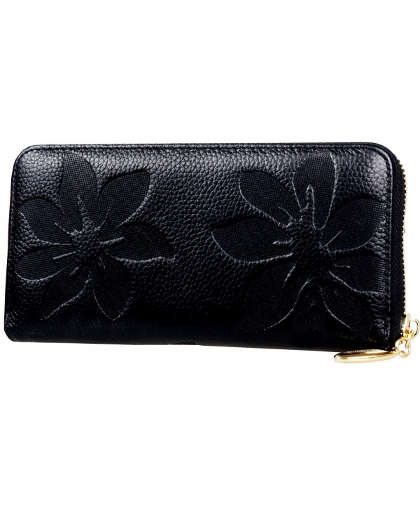 Womens Organizer Wallet Zippered Arround