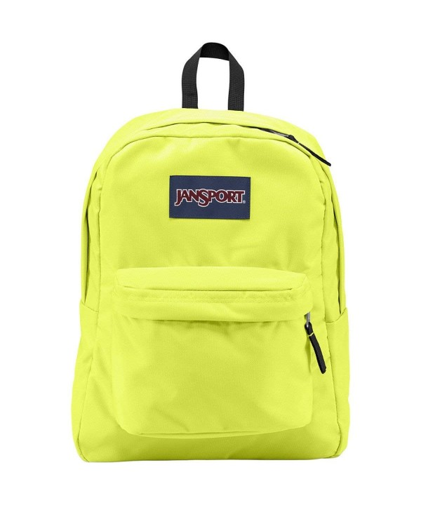 JanSport Superbreak Backpack Lorac Yellow