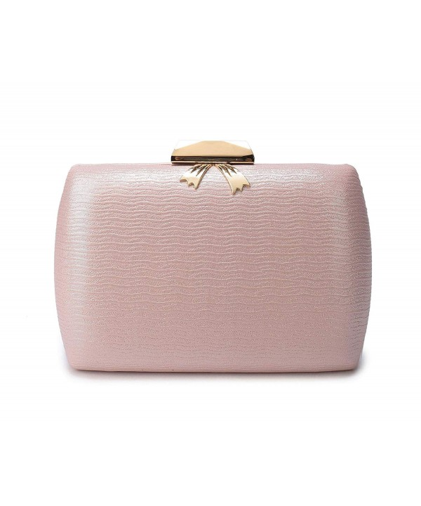 Leather Evening Clutches Handbag Cocktail