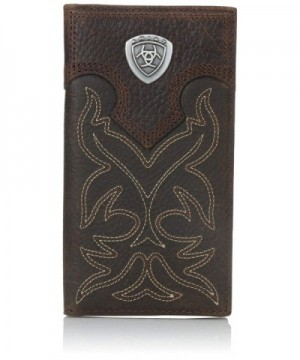 Ariat Mens Boot Embroidery Rodeo Wallet