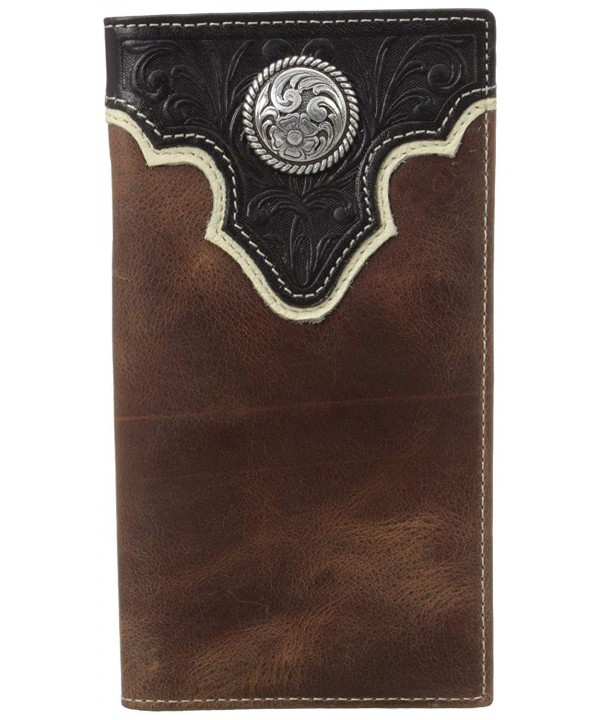 Ariat Concho Overlay Rodeo Wallet