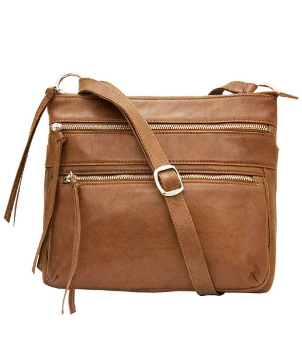 ili Leather Crossbody Handbag Antique