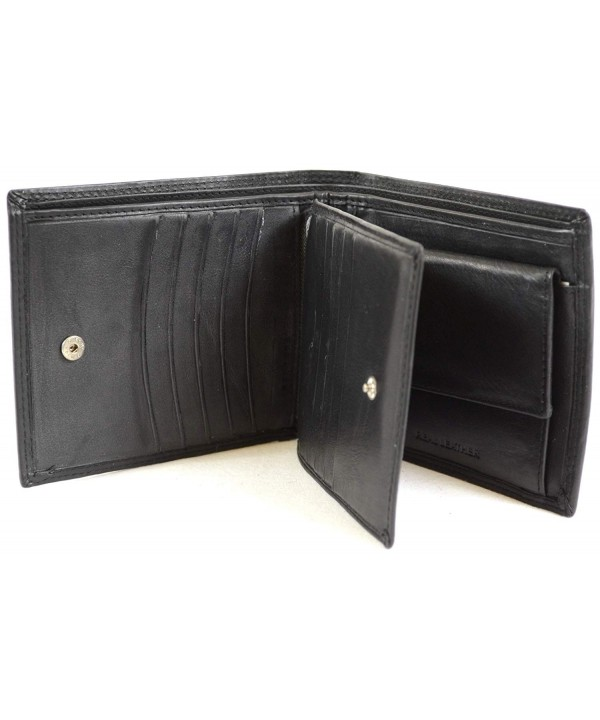 London Leather Wallet Multiple Pockets
