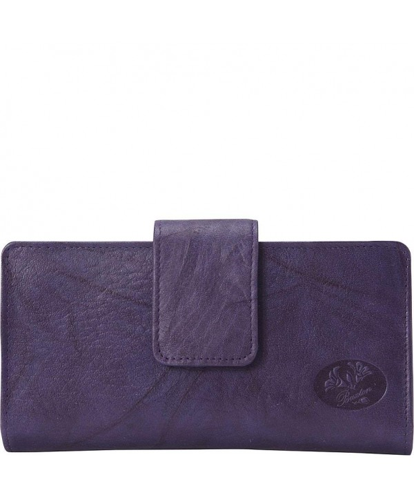 Buxton Heiress Metropolitan Wallet Mulberry