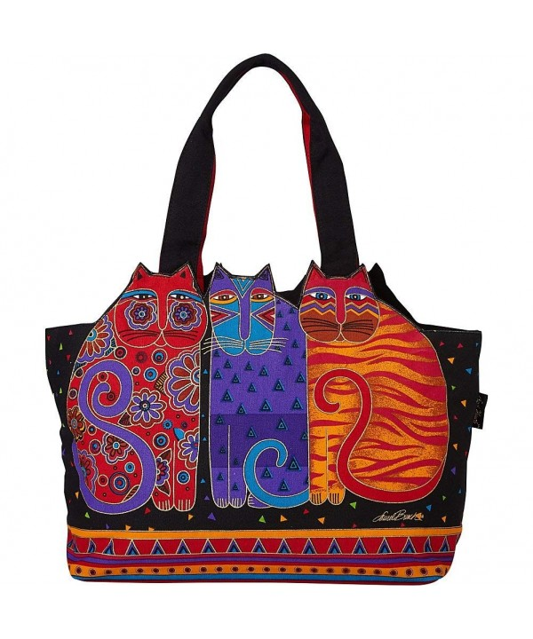 Laurel Burch Feline Friends Shoulder