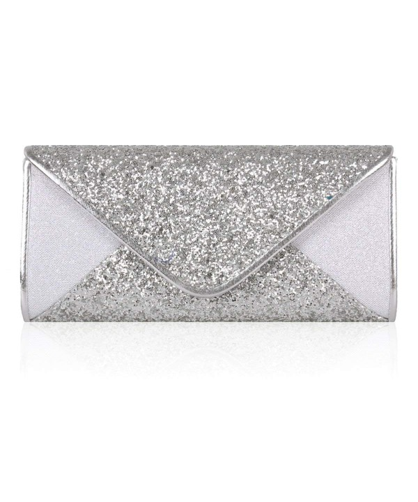 Damara Glitter Paillette Envelope Wedding