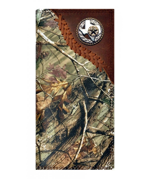 Custom Badger Texas Checkbook Realtree