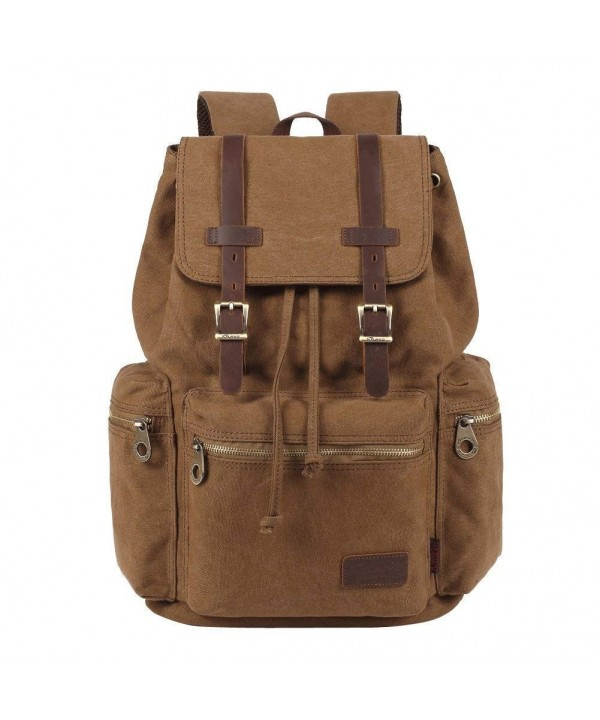 KAUKKO Vintage Leather Rucksack Backpack