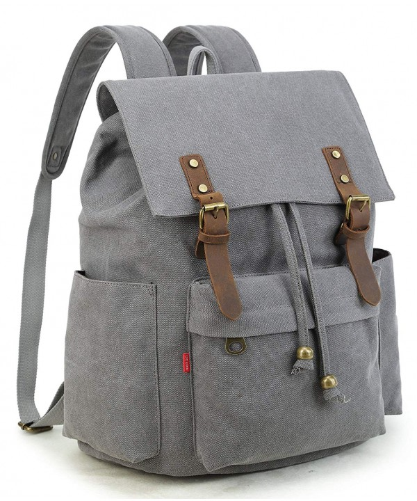 Crest Design Vintage Backpack Rucksack