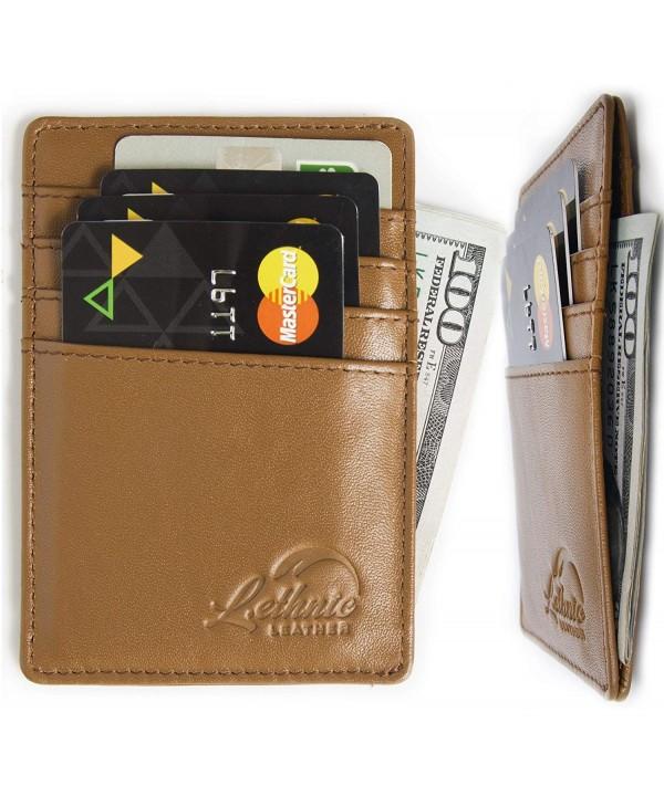 Lethnic Minimalist Front Pocket Wallet