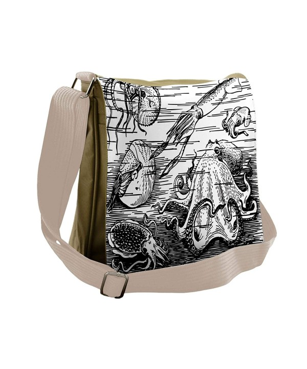 Lunarable Octopus Messenger Wildlife Cross body