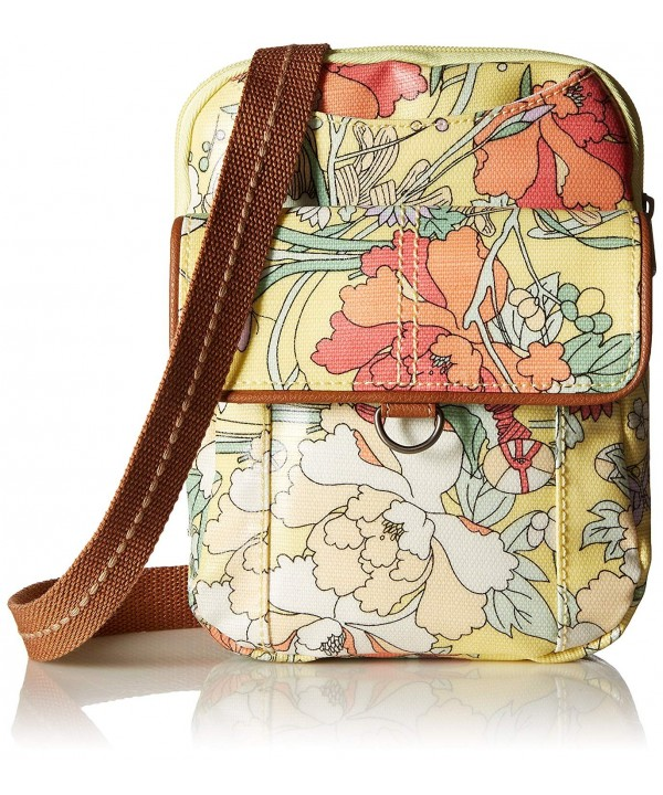 Sakroots Wynnie Messenger Canvas Sunlight Flower