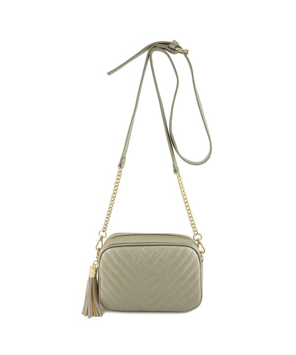 Simple Shoulder Crossbody Tassel Zipper