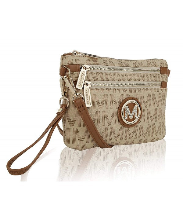MKF Collection Signature Crossbody Wristlet