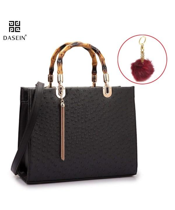 Dasein Structured Shoulder Briefcase Handbags