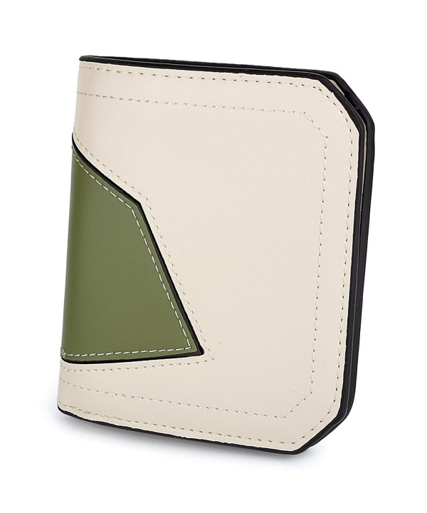 UTO Wallet Compact Bifold Leather