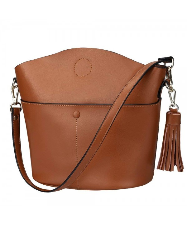S ZONE Cowhide Crossbody Shoulder Upgraded