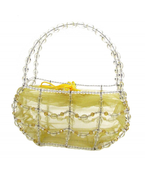 Linpeng Fiona Hand Beaded Handbag