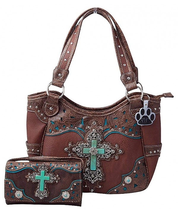 HW Collection Turquoise Concealed Crossbody