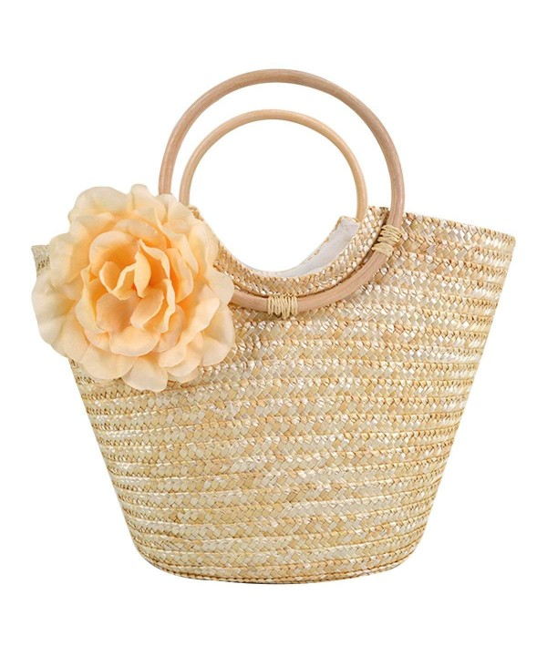 Monique Flower Handbag Oversize Knitted