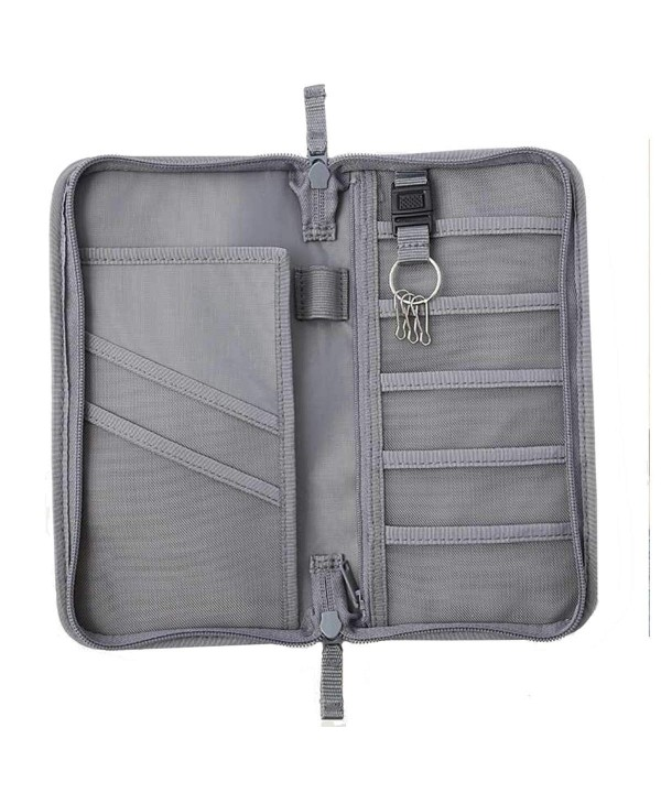 NEWANIMA Passport Envelope multifunction Style2 Gray