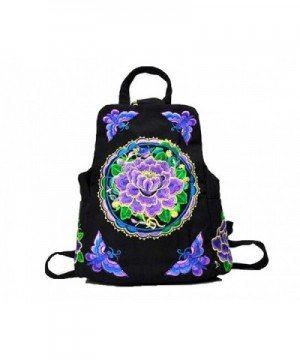 National Shoulder Canvas Embroidered Embroidery