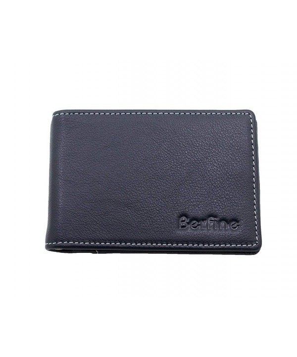 Leather Bifold Pocket Blocking Wallet