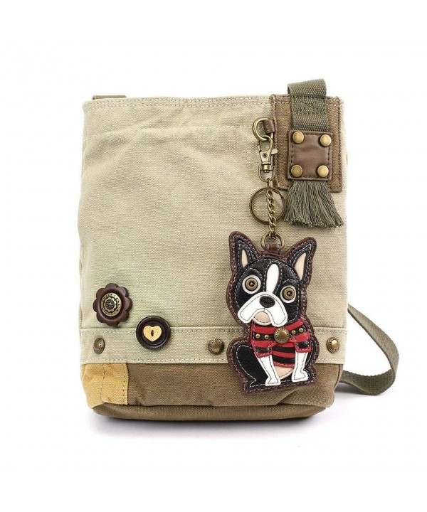 Canvas Crossbody Messenger handBags Terrier