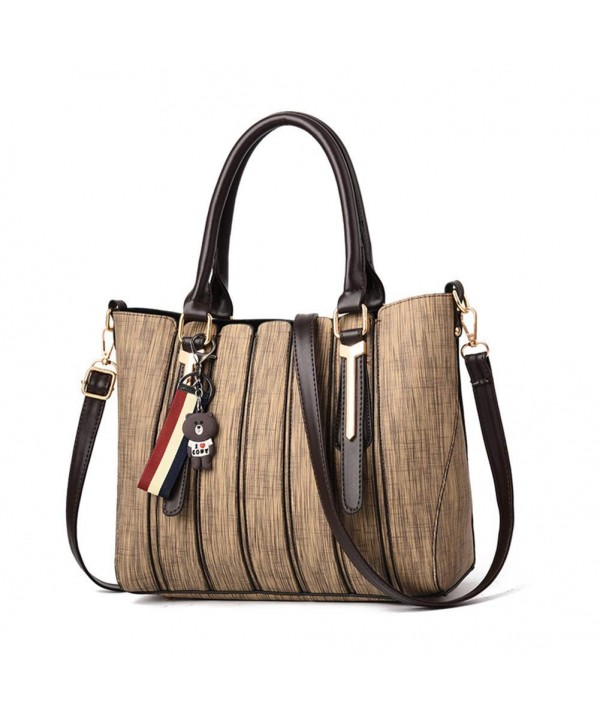 Leather Handbags Capacity Satchel Shoulder