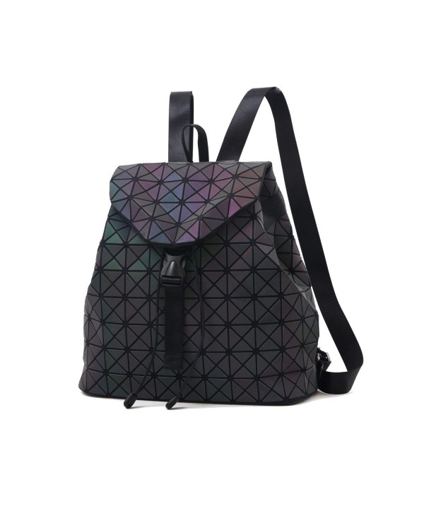Geometric Luminous Backpack Gradient Holographic
