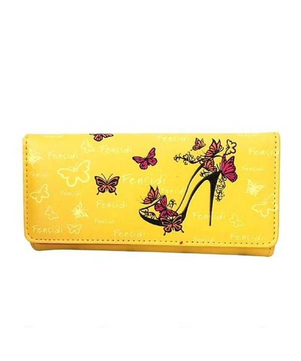 Mandy Butterfly Pattern Wallet Handbag