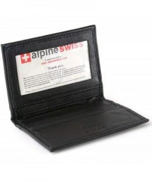 alpine swiss Pocket Wallet Business