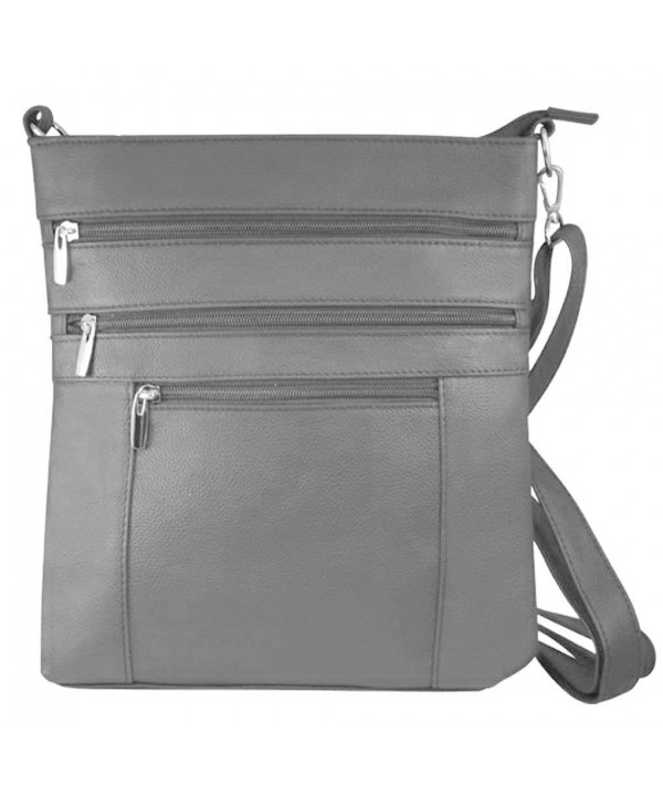 Messenger Italian Shoulder Compatible Gray 603