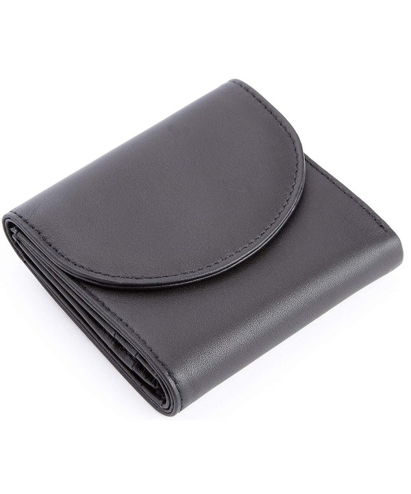 Royce Leather Blocking Compact Trifold