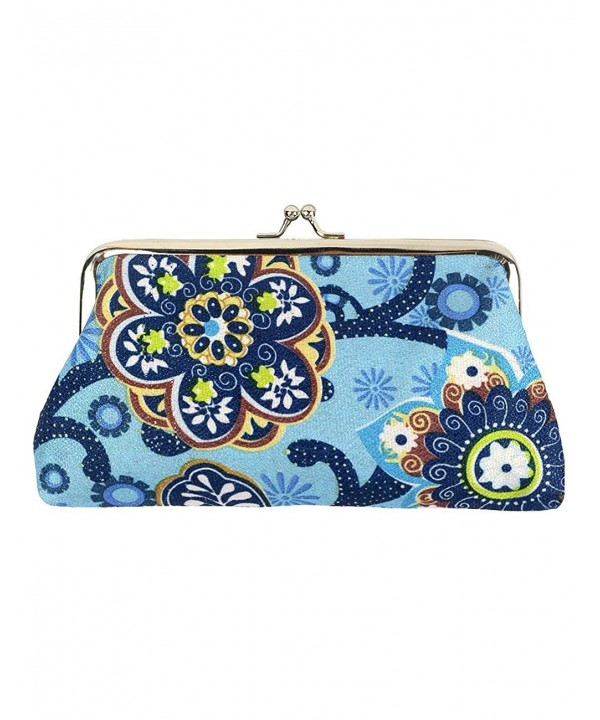 POPUCT Womens Canvas Pattern Handbag
