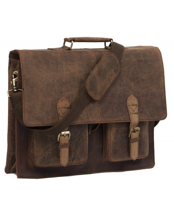 Messenger Crossbody Shoulder Handmadecraft Briefcase
