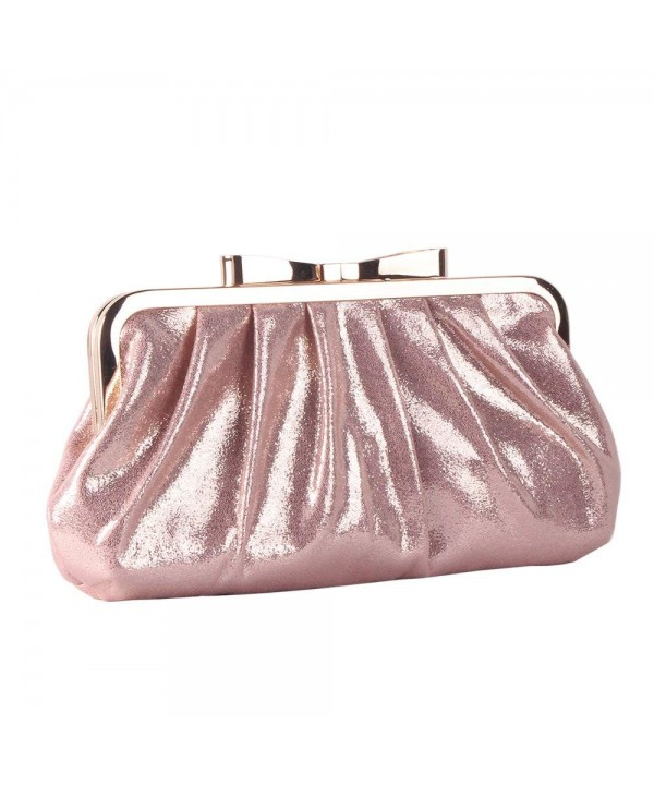 M10M15 Sparkle Pleated Evening Handbag